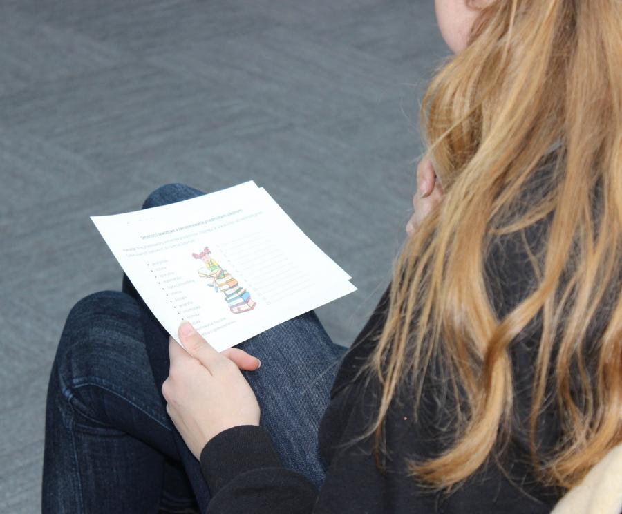 Spotkanie dla młodzieży gimnazjalnej w Gminnym Centrum Informacji
