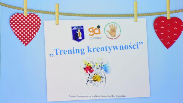 """""""Trening kreatywności"""", czyli rozwijamy twórcze myślenie!"""