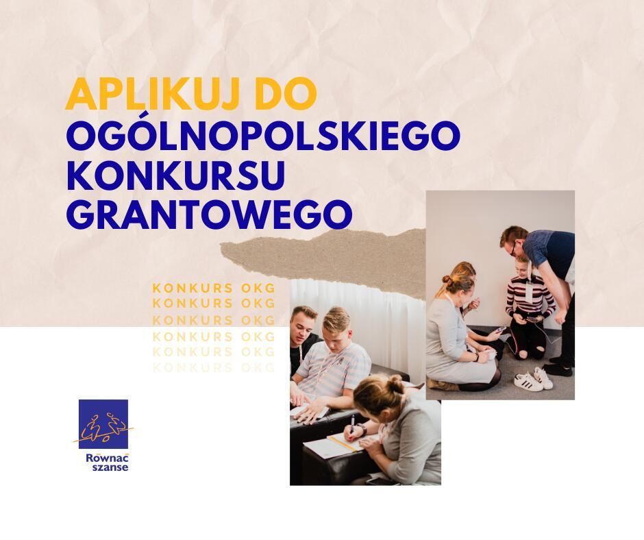 Trwa nabór wniosków w Ogólnopolskim Konkursie Grantowym Programu Równać Szanse 2020!