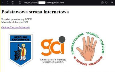 Strona internetowa od podstaw