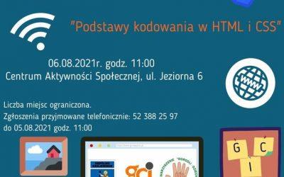 """""""Podstawy kodowania w HTML i CSS"""""""